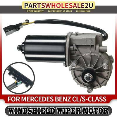 Front Windshield Wiper Motor Compatible with Mercedes-Benz CL500 CL600 S430 S500 S600 S55 AMG