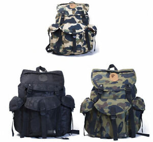 Popular A Bathing Ape Camouflage Army Backpack Bape Waterproof ...