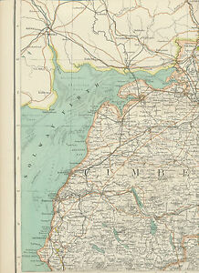 2310-1898-MAP-of-Royal-Atlas-of-England-amp-Wales-Pl-18-CARLISLE-Cumberland