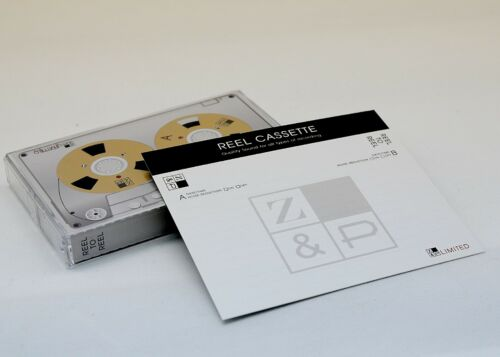New Reel to Reel cassette tape self-made high quality design Silver color