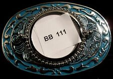 """BB111"" WESTERN STYLE BELT BUCKLE ""PLATED"" MADE IN U.S.A. WITH FREE SHIPPING!!"