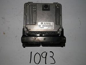 2009-09-TIGUAN-2-0L-TURBO-GAS-COMPUTER-BRAIN-ENGINE-CONTROL-ECU-ECM-MODULE-UNIT