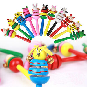 Baby-Bell-Toy-Cartoon-Animal-Wooden-Musical-Children-Special-For-Children