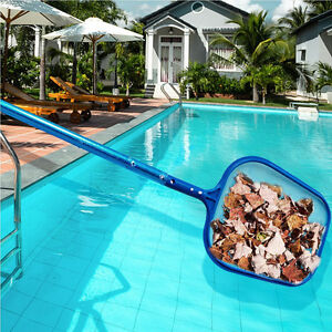 Details about Swimming Pool Filter Cleaning Net Leaf Rake Mesh Frame Net  Swim Pond Clean-Tool