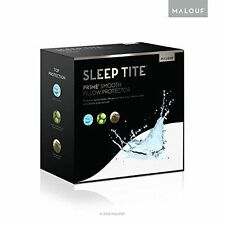 SLEEP TITE Smooth 100% Waterproof Hypoallergenic Twin Mattress Protector Malouf