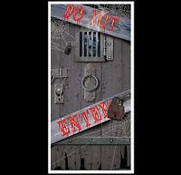 Spooky Halloween Dungeon Door Cover-do Not Enter Party Prop Building Decoration