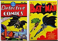 Detective Comics #27 - esp. ver - Batman #1 - reprints -1st apps. Batman VF+/NM