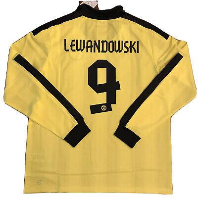 2012/13 Dortmund Winter/Xmas Home Jersey #9 LEWANDOWSKI ...