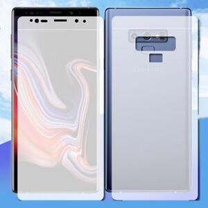 FRONT-BACK-Anti-eblouissement-Protecteur-d-039-ecran-Soft-Matte-Film-Pour-Samsung-Galaxy-S8-S9