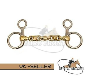 Brass Beval Belel BIT With Waterford German Silver Steel  Horse Bit  All size