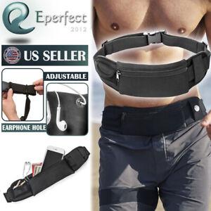 Unisex-Running-Belt-Water-Resistant-Waist-Pack-Phone-Holder-Fitness-Accessories