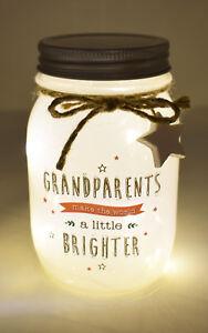 sentimental led light up bottle gift for grandparents gift