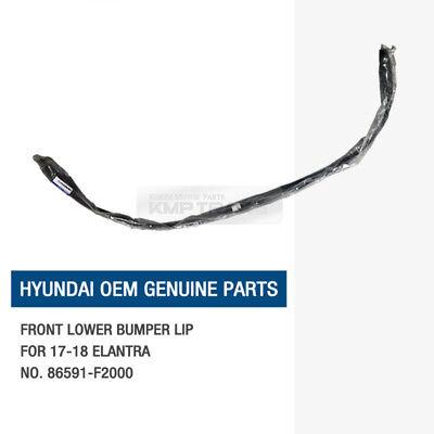 DEFLECTOR LOWER FRONT BUMPER LIP 86591F2000 HYUNDAI ELANTRA 2017-2018 GENUINE