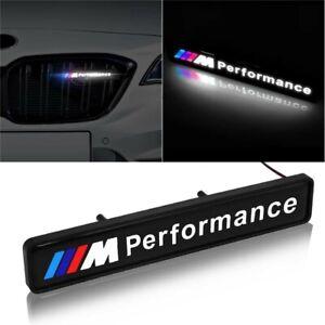 BMW-M-Sport-Performance-Front-Grille-Badge-Led-Light-Luminous-Universal