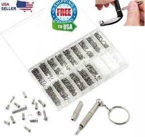 1000-kleine-Schrauben-Nuss-Schraubendreher-Uhr-Augenglas-Brille-Reparatur-Werkzeug-Set-Kit-Phon