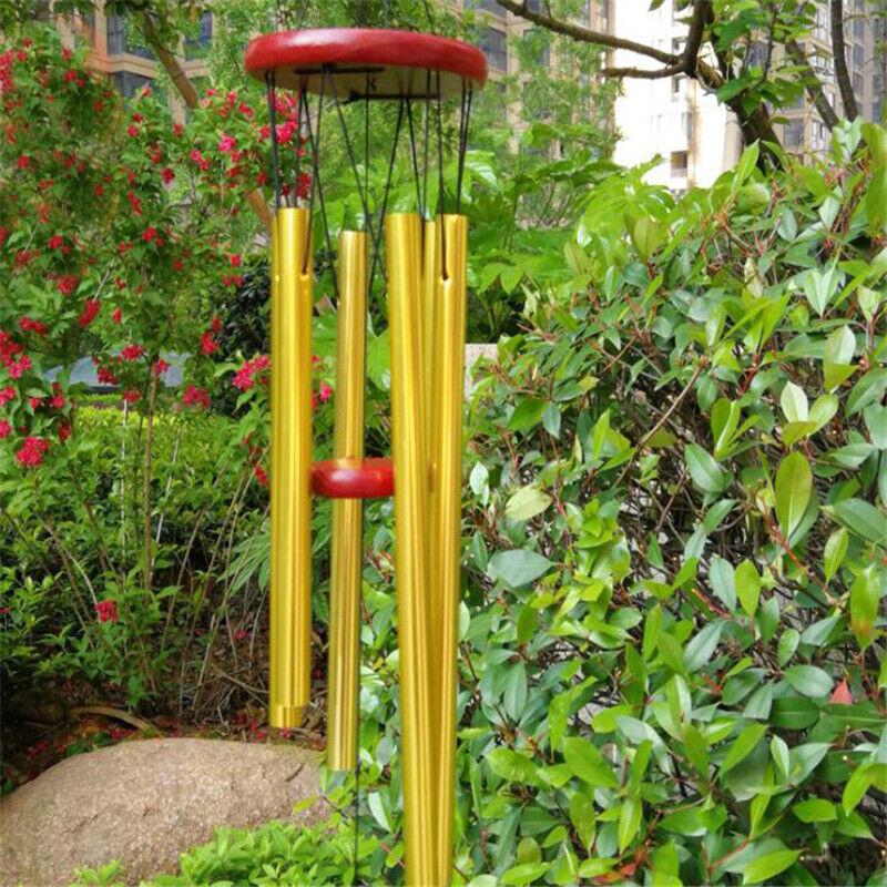 Outdoor Living Wind Chimes Yard Antique Amazing Garden Bells Copper Home PF
