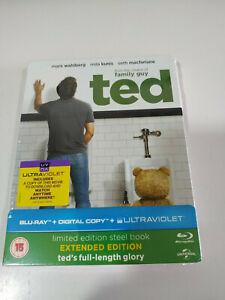 TED-MARK-WAHLBERG-Limited-Ed-Steelbook-Blu-ray-LATINO-Nuevo-AM