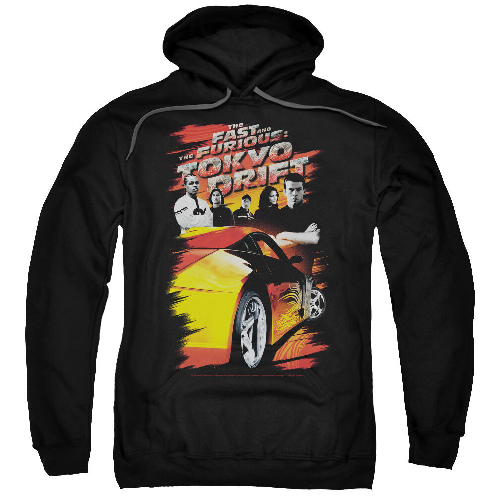 Fast & Furious Tokyo Drift Movie Poster DRIFTING CREW Sweatshirt Hoodie