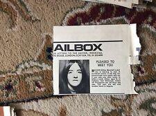 U2-1 ephemera 1971 press cutting g marshall ingliston