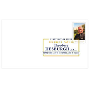 USPS-New-Father-Theodore-Hesburgh-Digital-Color-Postmark