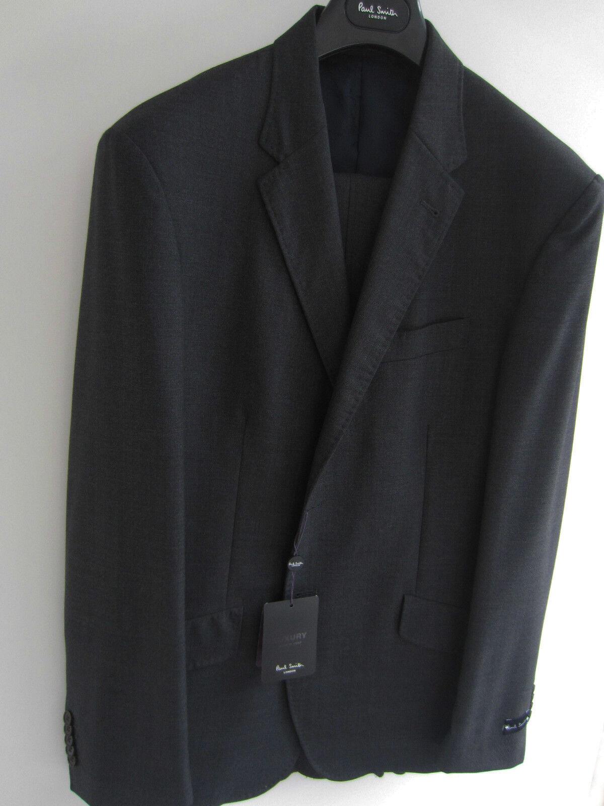 PAUL SMITH London Luxus Sammlung grau hinterlegt KLASSISCHE PASSFORM uk42r eu52r  | Up-to-date-styling  | Zuverlässiger Ruf  | Sale Online