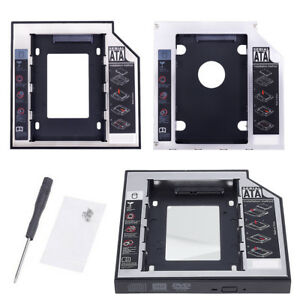 9-5-12-7mm-SATA-2nd-SSD-HDD-Bracket-CD-DVD-ROM-Optical-Bay-Hard-Drive-Caddy