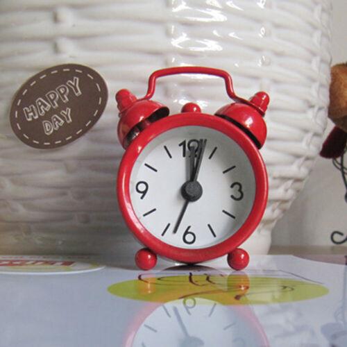 Mini Alarm Clock Bell Alarm Clock Analog Desk Clock with Twin Bell form Bedroom
