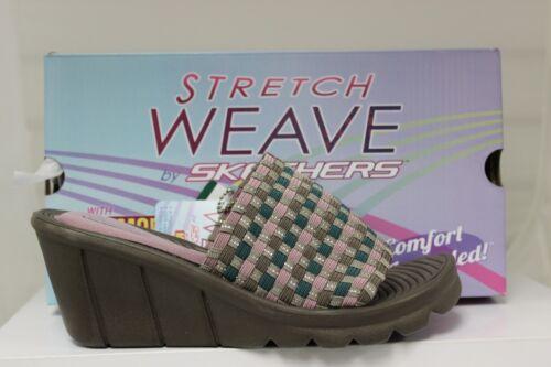 38398 tplv Skechers Promenade Stretch Shopper lavanda Memory talpa Foam Weave color IwIpq6f