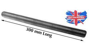 M10X1.5 Fully Threaded 300MM Long ROD//Bar//Studding//STUD Metric thread Auto Black