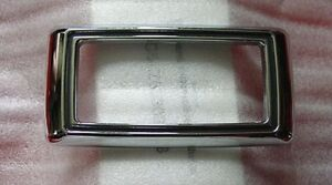 1969-Cougar-Side-Marker-Bezels-set-of-4-w-Mounting-Pads