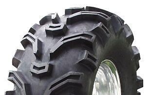 SET OF 2 KENDA K299 BEAR CLAW ATV TIRES  26-11-12