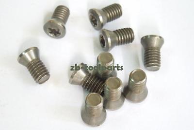 12pcs M5 x 14mm Insert Torx Screw for Carbide Inserts Lathe Tool /& Screwdriver