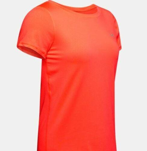 in Orange Gr 1328964-836 S-XL Neu!!! Under Armour Damen T-Shirt HG Armour SS