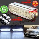 2x Car Truck 16 LED Light 12V Day Fog Driving Bulb Daytime Running Van DRL white