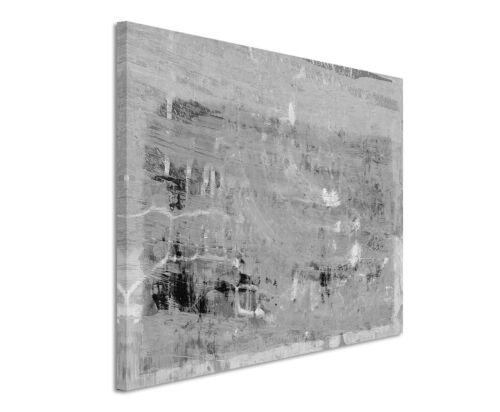 Leinwandbild abstrakt schwarz grau weiß Paul Sinus Abstrakt/_730/_120x80cm