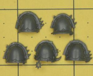 Ordonné Warhammer 40k Chaos Space Marines Raptor/warp Talon épaulettes (b)-afficher Le Titre D'origine