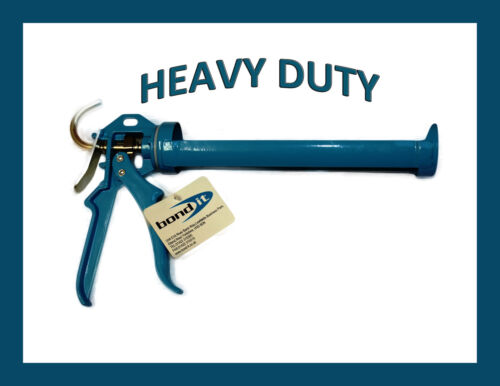 BOND IT PRO PLUS HEAVY DUTY SILICONE SEALANT GUN FOR 310 /& 400ML CARTRIDGES