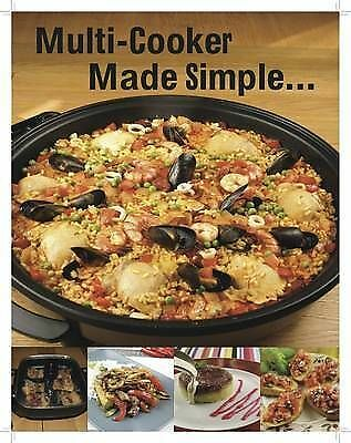 Paul Brodel, Multi-Cooker Made Simple: Step By Step Photos (Made Simple Range),