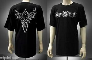 T-Shirt-MC-TRIBAL-Taille-L-Style-BIKER-HARLEY