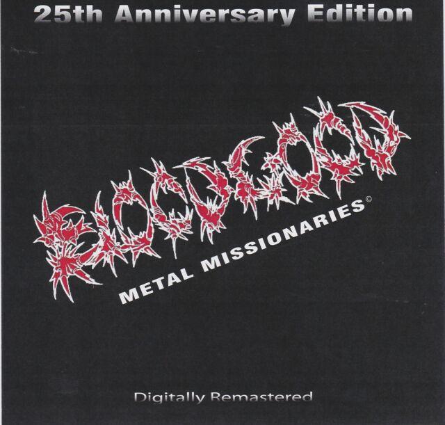 BLOODGOOD - METAL MISSIONARIES (CD, 2010) Rare Christian Metal Demo