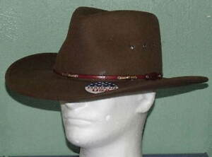Image is loading STETSON-WILDWOOD-ACORN-CRUSHABLE-WOOL-WESTERN-HAT 6504cc317df