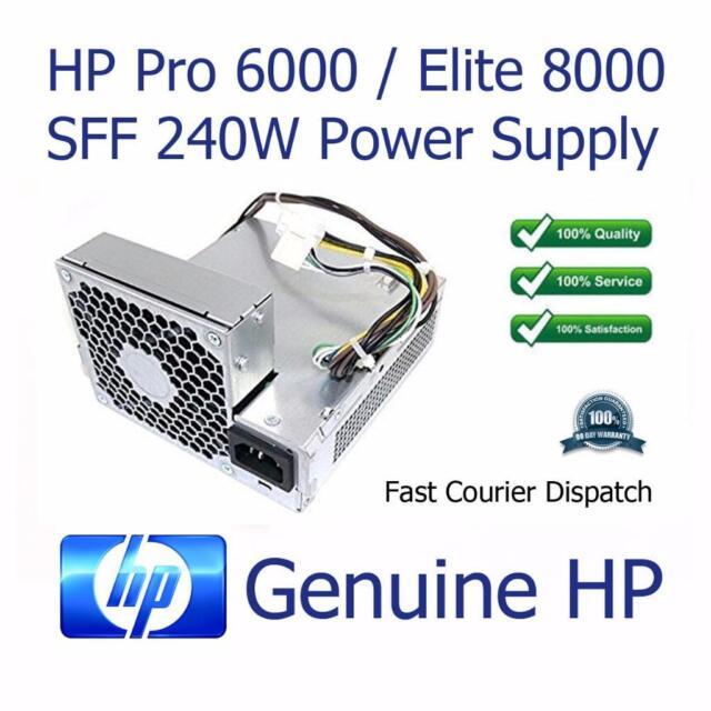 HP Pro 6000 / Elite 8000 SFF 240W Power Supply Unit 503376-001 508152-001 PC8019