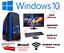A-buon-mercato-custom-Gaming-PC-Processore-Intel-Core-i7-Win10-GTX1650-16GB-RAM-128GB-SSD-1TB-HDD miniatura 1
