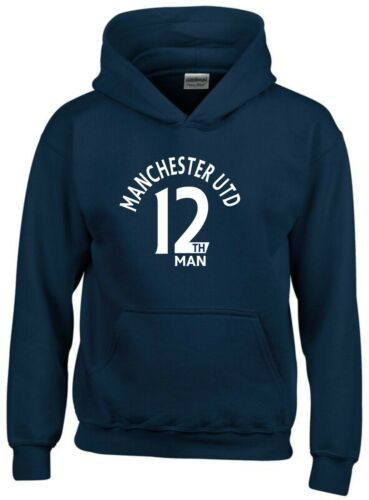 12th Man Manchester Utd Fan Hoodie Mens