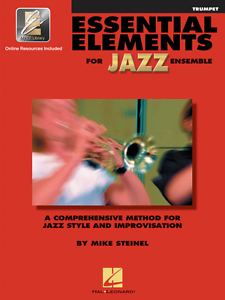 """essential Elements For Jazz Ensemble""-trumpet Music Book W/online Access New!!"
