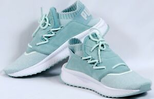 a07dea8d58f2 Image is loading Puma-Tsugi-Shinsei-Evoknit-New-Sneakers-Blue-Womens-