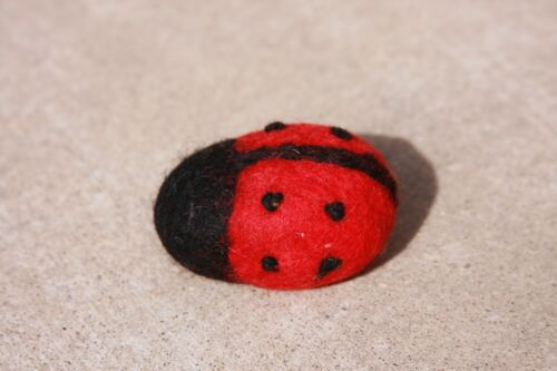 Felt Catnip Lady Bug