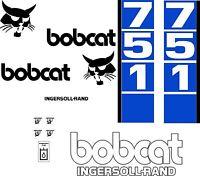 751 Replacement Decals Decal Kit D / Sticker Set Skid Loader Steer Fits Bobcat