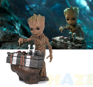 New-Guardians-of-the-Galaxy-Baby-Groot-Push-Bomb-Scene-Resin-Figure-Model-Toy