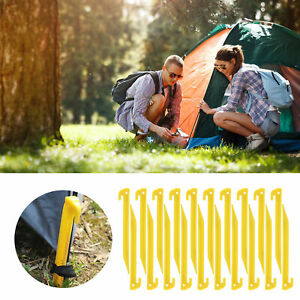 Peg Sand Tent Pegs Heavy Duty Camping Awning Clip Stakes Plastic Clamp Hangers